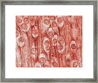 Worm Infected Tissue Framed Print by Cdc