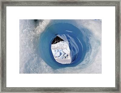 Wormhole 2 Framed Print
