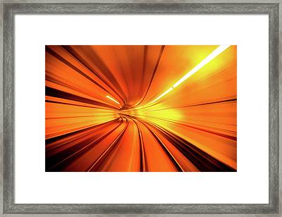Wormhole Framed Print by Alfred Myers