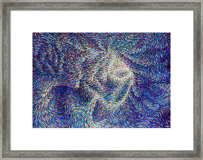 Wormhole Framed Print by Josh Long