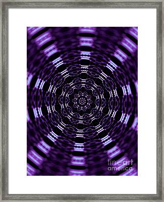 Wormhole Framed Print by Robyn King