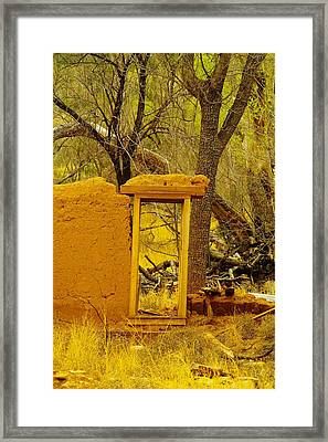 Worn And Weathered Framed Print by Jeff Swan