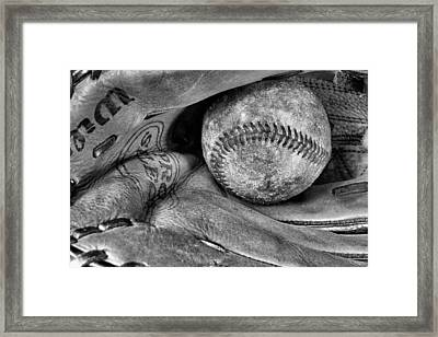 Worn In Bw Framed Print by JC Findley