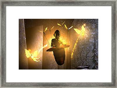 Worship The Coming Framed Print