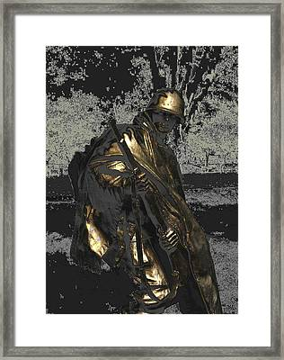 Worth Their Weight In Gold Framed Print