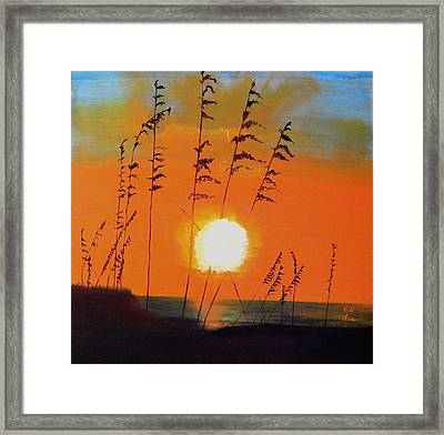 Worth Waiting For Framed Print by Keith Thue