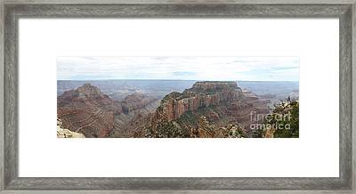 Wotans Thorne Grand Canyon Panorama Framed Print