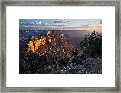 Wotan's Throne Framed Print by Guy Schmickle