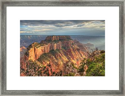 Wotan's Throne Framed Print by Jeff Cook