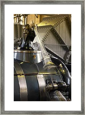 Woudagemaal Steam Engine. Framed Print