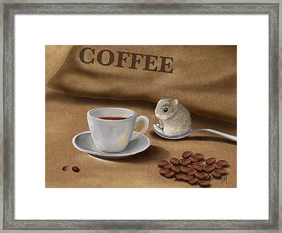 Would You Like A Cup Of Coffee? Framed Print