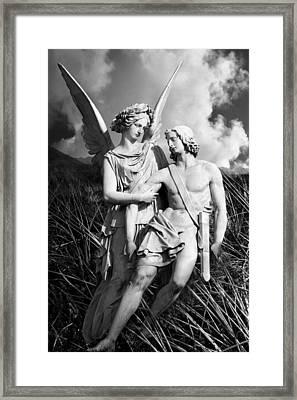 Wounded Framed Print by Marc Huebner