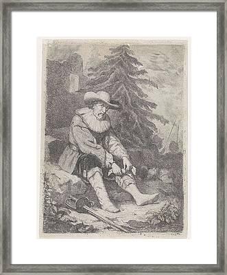 Wounded Warrior, David Van Der Kellen IIi Framed Print by Quint Lox