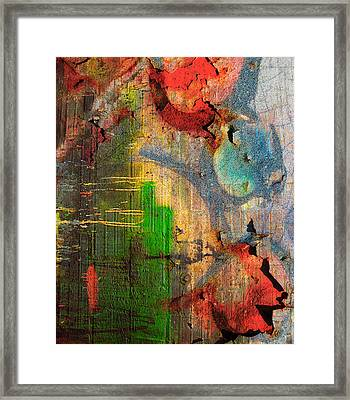 Wounds That Stick  Framed Print