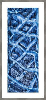 Woven Beauty Framed Print by Omaste Witkowski