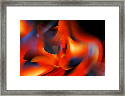 Wow  All That Bright Color Framed Print