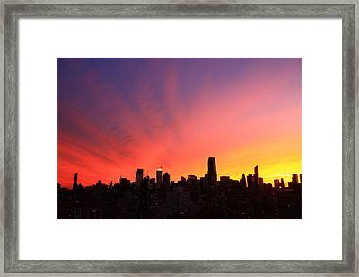 Wow Framed Print