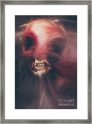 Wraith Of The Monstrous Minotaur Framed Print by Jorgo Photography - Wall Art Gallery
