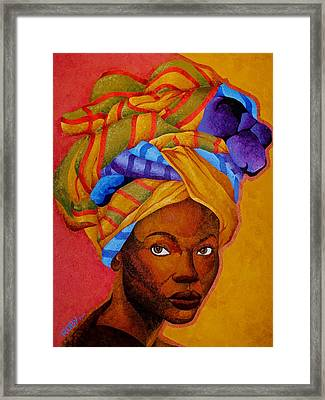 Wrapped Beautifully Framed Print by William Roby