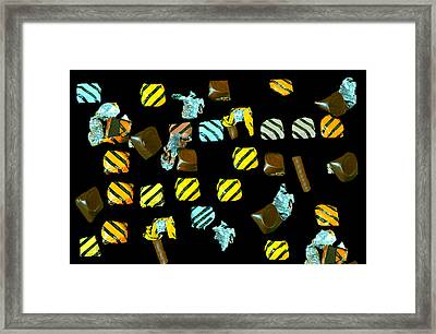 Wrapped Chocolates Framed Print