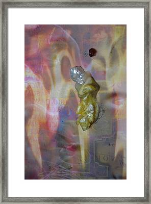 Wrapped In Abundance Framed Print by Deprise Brescia