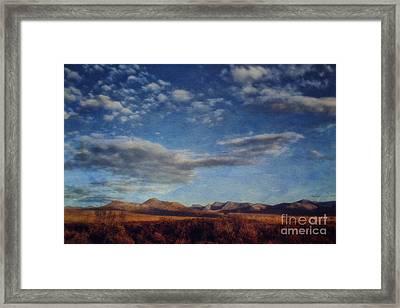 Wrapped In Autumn  Framed Print by Priska Wettstein