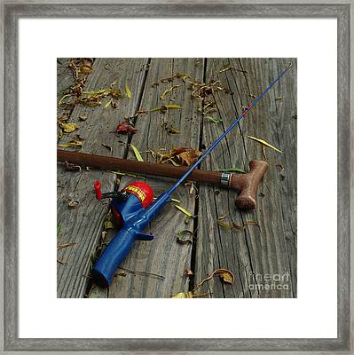 Wrapped In Time Framed Print