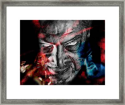 Wrath Framed Print by Camille Lopez