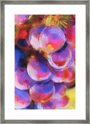 Wrath Of Grapes Framed Print
