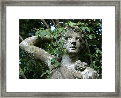 Wreathed In Nature Framed Print