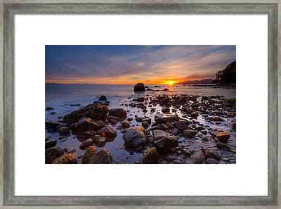 Wreck Beach Framed Print