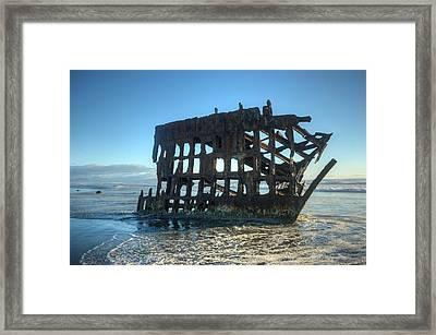 Wrecked Framed Print