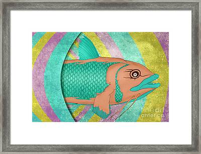Wreckfish Framed Print by Bruce Stanfield