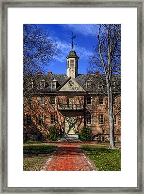 Wren Building Main Entrance Framed Print