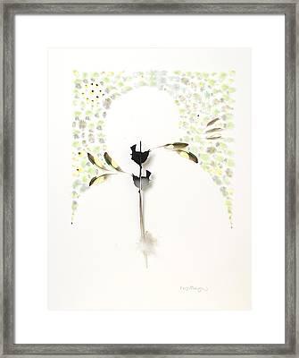 Wren Territory Framed Print by Chris Maynard