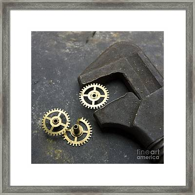 Wrench Framed Print by Bernard Jaubert