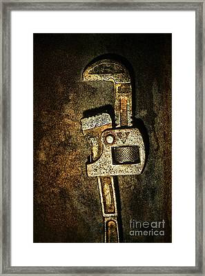 Wrench Framed Print by HD Connelly