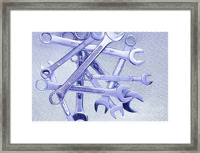Wrenches Framed Print