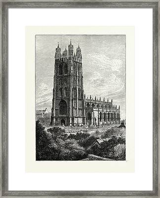Wrexham From The South West Framed Print