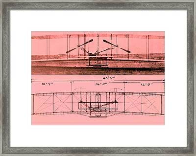 Wright Brothers - Flyer I Framed Print