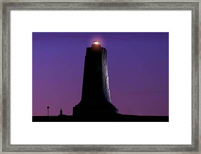 Framed Print featuring the photograph Wright Brothers Memorial by Greg Reed