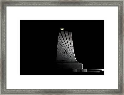 Framed Print featuring the photograph Wright Brothers Memorial II by Greg Reed