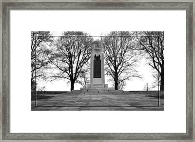 Wright Brothers Memorial Framed Print