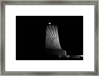 Framed Print featuring the photograph Wright Brothers National Memorial by Greg Reed