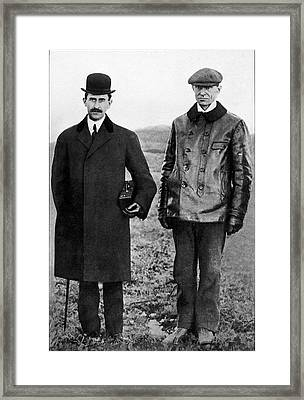 Wright Brothers Framed Print by Sheila Terry