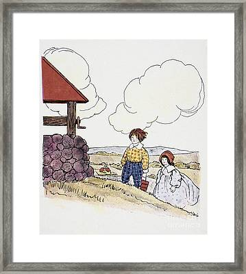 Wright: Jack & Jill Framed Print