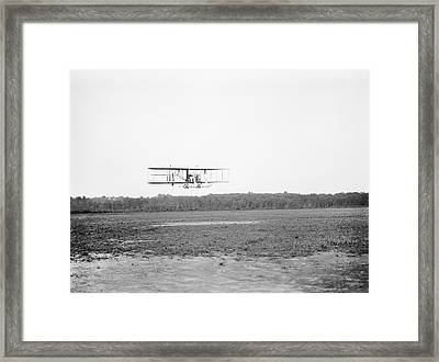 Wright Model B Airplane Framed Print