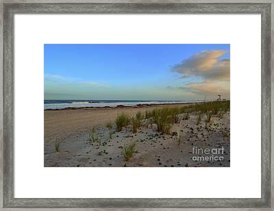 Wrightsville Beach Dune Framed Print