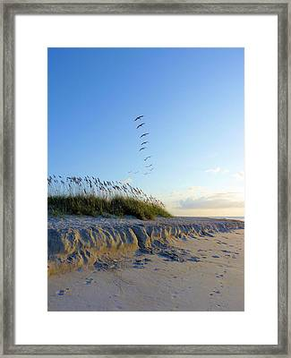 Wrightsville Beach Framed Print by JC Findley