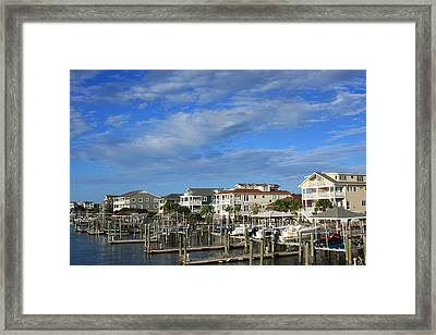 Framed Print featuring the photograph Wrightsville Beach - North Carolina by Mountains to the Sea Photo